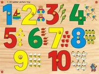 Number With Picture Tray