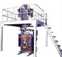 Automatic Vertical Bagger With Multi Head Weighing System