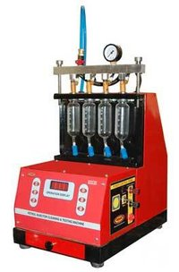 Semiautomatic Computerized Injector Cleaning & Testing Machine