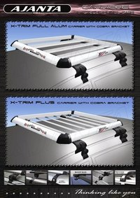 Styling Roof Top Luggage Carrier