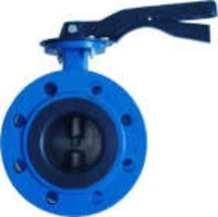 Handle Flange Butterfly Valve