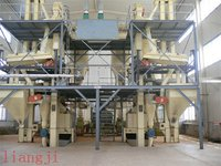 Container Structure Whole Pellet Plant