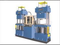 Vacuum Compression Moulding Machine
