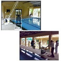 Swimming Pool Hoist For Hydrotherapy