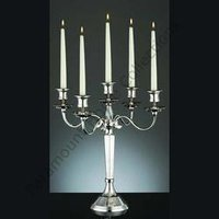 Five Arms Candle Stand For Christmas