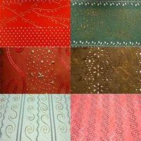 Embroidered Beads Paper