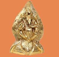 Enthroned Ganesha Statue