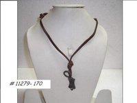 Suede Cord Necklace