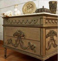 Carved Side Cabinet