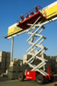 Diesel Or Dual Fuel Scissor Lifts