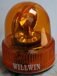 Round Type Revolving Light