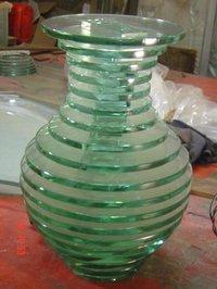 Glass Flower Pots