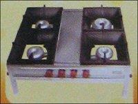 Mini Bottom Four Burner Gas