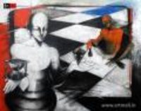 Check An Mate Painting
