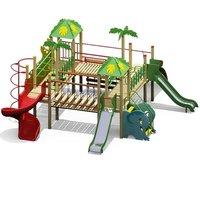 Multi-Activity Jungle Gym