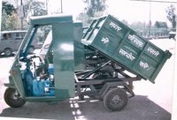 Three Wheeler Tipper