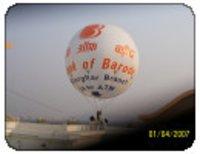 Flying Printed Advertising Balloon
