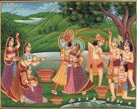 Indian Miniature Rajasthani Paintings