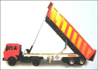 Double Axle Tip Trailer