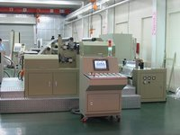 Wide Web Hard Embossing Holographic Machine