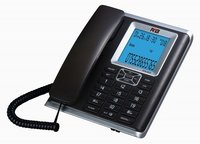 Corded Black Corded Phone