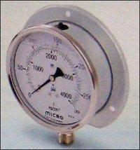 100mm Eco Surface Mounting Micro Glycerin Filled Pressure Gauges