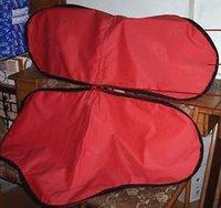 Red Color Saddle Bag
