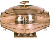 Antique Copper & Brass Dolak Chafing Dish