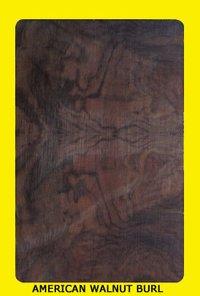 American Walnut Bur Veneers