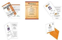 Corporate Identity Card Design Service