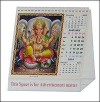 Square Size Desk Calendar