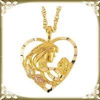 Ladies Gold Pendants