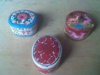 Papier Machie Ring Boxes