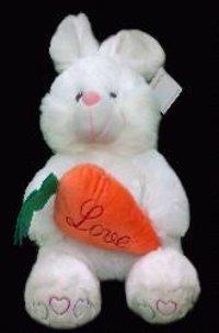 Stuffed Rabbit Shape Toy