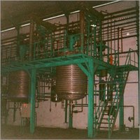 Chemical Plant Equipments & Piping With Structure