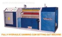 Fully Hydraulic Samming Cum Setting Pout Machine