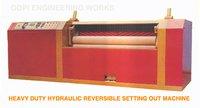 Heavy Duty-Hydraulic Reversible Setting Out Machine