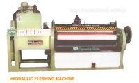 Hydraulic Fleshing Machine