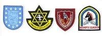 Machine Embroidered Cap Badges
