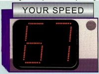Speed Radar Sign