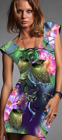Digital Printing On Tunic