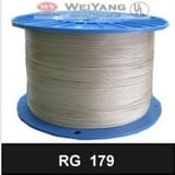 RF RG 179 FEP PTFE Coaxial Cable