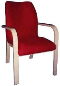 Red Fabric Chairs