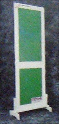Green Color Pvc Solid Panel Doors