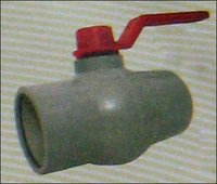 P.P. Long Handle Solid Ball Valve