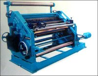 Oblique Type Single Face Paper Corrugating Machine