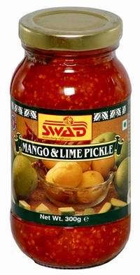 Mango & Lime Mixed Pickles