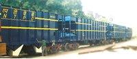 Bottom Rapid Discharge Coal Hopper Wagon