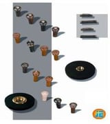 Saddl, Nut, End Pin, Rest Stoppers