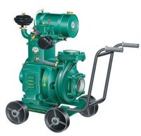 Diesel Monoset Pumps - High Speed, Water-Cooled & Air-Cooled, Light Weight 5 to 7.5 HP